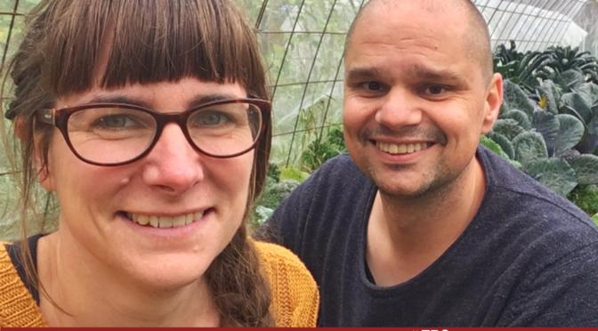 Hanna och Christian bor i Sundhult - Gården i Falkenbergs inland